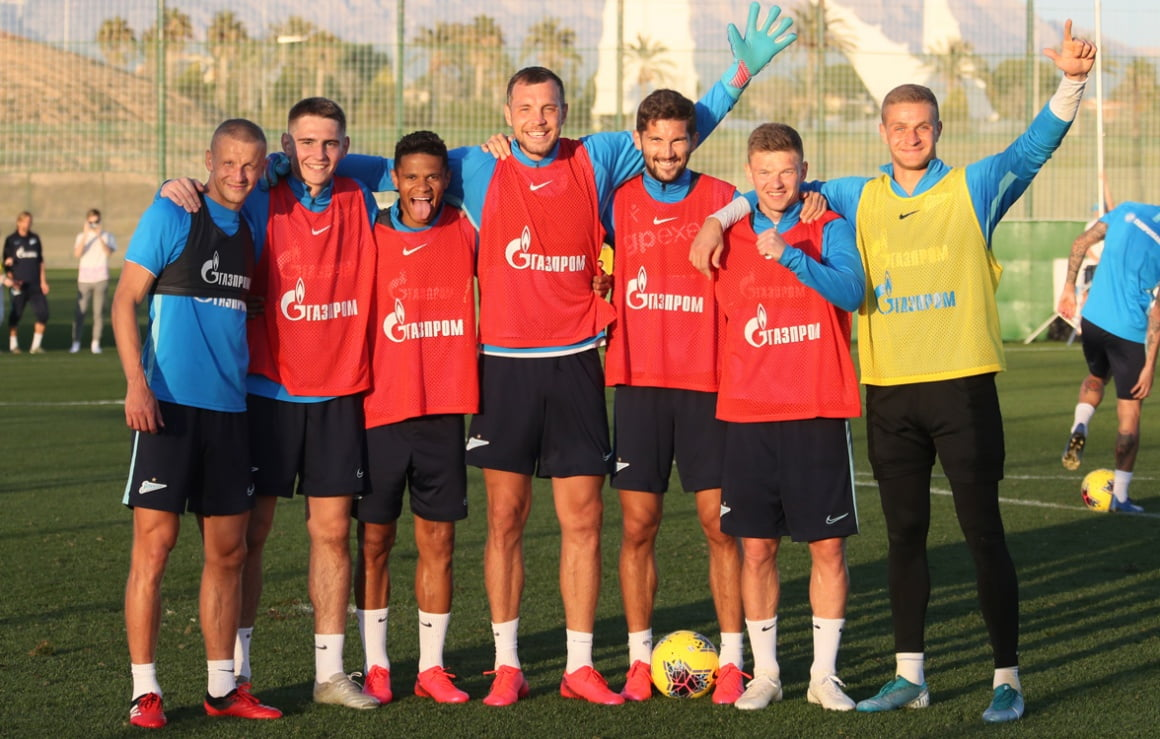 """Gazprom""-Trainingslager in Spanien - 7. Tag"